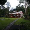 "Borneo Rainforest Lodge dining area <div id=""caption_tourlink"" align=""right""> [Photo © Richard Webster]</div>"
