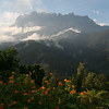 """We stay near the base of the mountain, where we have a more distant view of Gunung Kinabalu. <div id=""""caption_tourlink"""" align=""""right""""> [Photo © Richard Webster]</div>"""