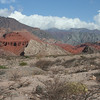 "...and more of the dramatic and multicolored landscape of the Quebrada de Cafayate.<div id=""caption_tourlink"" align=""right"">Link to: <a id=""caption_tourlink"" href=""http://www.fieldguides.com/argentnorthwest.htm"" target=""_blank"">NORTHWESTERN ARGENTINA</a><br>[photo © guide Dave Stejskal]</div>"