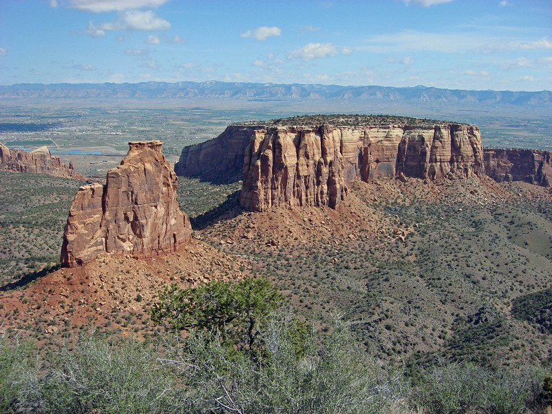 """We begin this month's gallery of recent tour images with scenes from our two Colorado Grouse departures: here, the spectacular landscape of Colorado National Monument. <div id=""""caption_tourlink"""" align=""""right""""> [Photo © guide Alvaro Jaramillo]</div>"""