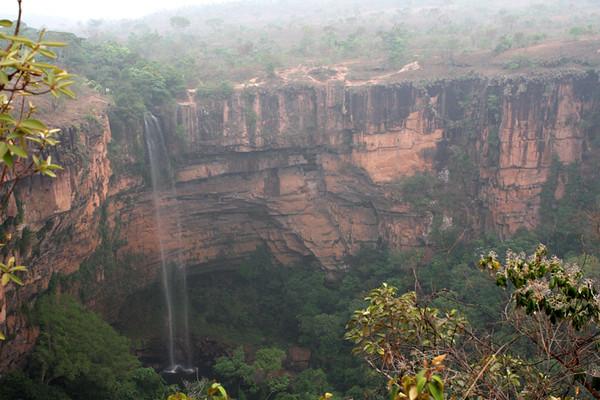 "Falls at Chapada dos Guimaraes<div id=""caption_tourlink"" align=""right""><br>[photo © participant Dick Stilwell]</div>"