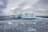 """In route to Elephant Island we encountered lots of pack ice and icebergs which slowed our journey but made it all the more beautiful. <div id=""""caption_tourlink"""" align=""""right""""> [Photo © George Armistead]</div>"""