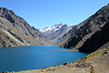 Embalse Yeso, high above Santiago, where we go to look for Diademed Sandpiper-Plover and other high-elevation specialties (Photo by guide Marcelo Padua)
