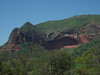 "The ""Muela del Diablo"" (Devil's Molar) is an awe-inspiring sandstone formation in the Bermejo area of the foothills near Santa Cruz. Looks like the Devil needs to brush better...  <div id=""caption_tourlink"" align=""right""> [Photo © Dan Lane]</div>"