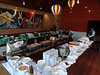 Our hotel in Santa Cruz provides some wonderful food. Here is the lunch buffet. (Photo by guide Dan Lane)