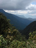 """A view down the valley from the upper Coroico road. <div id=""""caption_tourlink"""" align=""""right""""> [photo © guide Dan Lane]</div>"""
