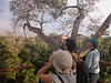 """Group at the Camungo canopy tower <br><div id=""""caption_tourlink"""" align=""""right""""> [photo © guide Richard Webster]</div>"""