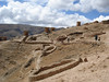 """Ruins of Ninamarca, funery monuments of the pre-Inca Lupaca culture, at 11,800' along the road from Cusco to Paucartambo<div id=""""caption_tourlink"""" align=""""right""""><br>[photo © Rose Ann Rowlett]</div>"""