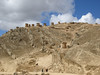 "Ruins of Ninamarca, funerary monuments of the pre-Inca Lupaca culture, at 11,800' along the road from Cusco to Paucartambo<div id=""caption_tourlink"" align=""right""><br>[photo © Rose Ann Rowlett]</div>"