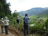 """Birding along the road through the mountains of Manu <div id=""""caption_tourlink"""" align=""""right""""><br>[photo © guide Rose Ann Rowlett]</div>"""