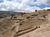 """Ruins of Ninamarca, funery monuments of the pre-Inca Lupaca culture, at 11,800' along the road from Cusco to Paucartambo <div id=""""caption_tourlink"""" align=""""right""""><br>[photo © guide Rose Ann Rowlett]</div>"""