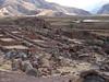 "Pre-Inca ruins of Urpicancha, above Huacarpay Lakes near Cusco <div id=""caption_tourlink"" align=""right""><br>[photo © guide Rose Ann Rowlett]</div>"