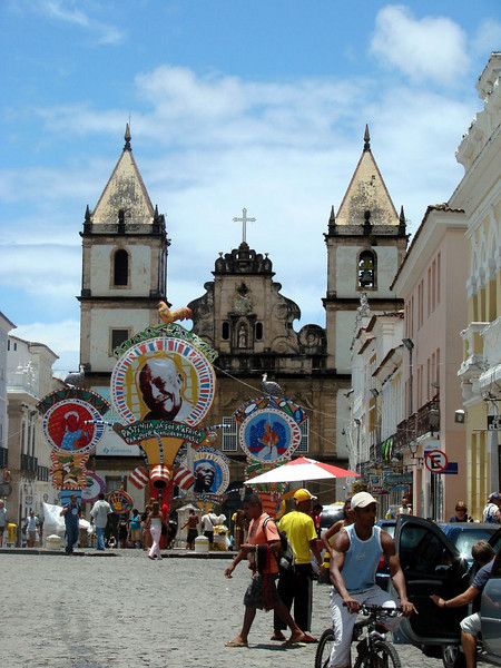 "Salvador: the old city  <div id=""caption_tourlink"" align=""right""> [photo © participant Shirley Sekarajasingham]</div>"