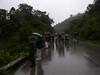 "Birding in the rain, it happens sometimes! <div id=""caption_tourlink"" align=""right""> [photo © guide Dan Lane]</div>"