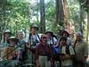 "2008 group on the trail at Posada Amazonas<div id=""caption_tourlink"" align=""right""><br>[photo © Rose Ann Rowlett]</div>"
