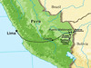 """Here are a few photos from our 2008 <b>Peruvian Rainforests of the Tambopata</b> tour, guided by <b>Rose Ann Rowlett</b>. The map gives you an idea of the destinations covered: our flights to Cusco and Puerto Maldonado, and our boat trips to Reserva Amazonica, Posada Amazonas, and the Tambopata Research Center.  Take a few minutes to look through the images and enjoy!<div id=""""caption_tourlink"""" align=""""right""""><br>[photo © Rose Ann Rowlett]</div>"""