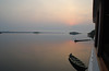 Dawn at the mouth of the Rio Jau. Photo by participant Deborah Linde.