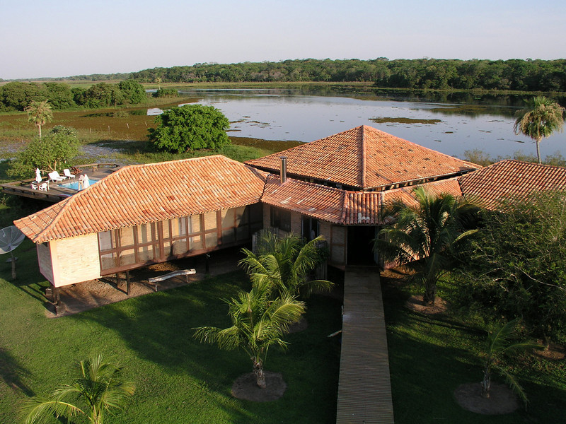 """Baiazinha Lodge at Caiman <div id=""""caption_tourlink"""" align=""""right""""> [photo © guide Richard Webster]</div>"""