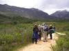 "Trail birding <div id=""caption_tourlink"" align=""right""> [photo © participant Harriet Marble]</div>"
