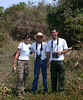 """Vitinho (right) and others at Pousada Caiman <div id=""""caption_tourlink"""" align=""""right""""> [photo © guide Louis Bevier]</div>"""