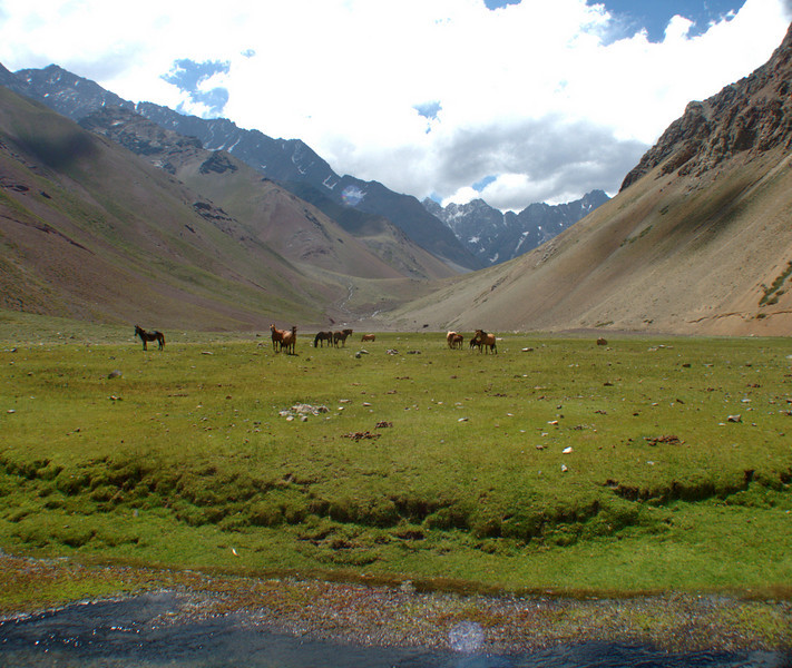 "Yeso and Maipo Valley <div id=""caption_tourlink"" align=""right""> [photo © participant Pamela Conley]</div>"