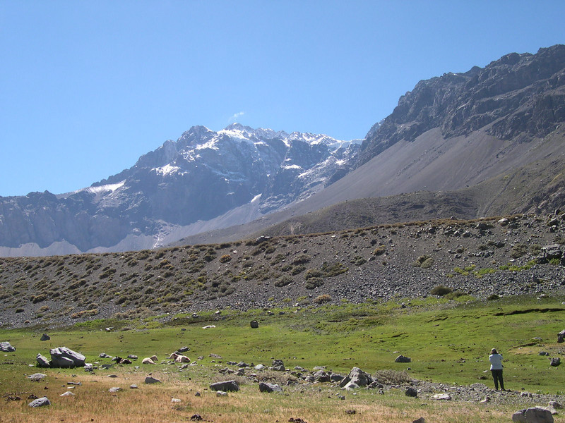 "Yeso Valley Chile (Joy Wallis cch08)  <div id=""caption_tourlink"" align=""right""> [photo © guide Alvaro Jaramillo]</div>"