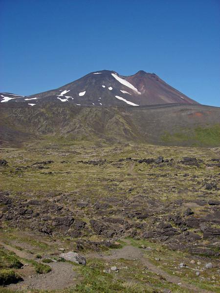 "Puyehue Volcano    <div id=""caption_tourlink"" align=""right""> [photo © guide Alvaro Jaramillo]</div>"
