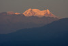 "We'll hope for one last dawn on the Wildsumaco deck with alpenglow on distant Antisana before we head back past it and on to Quito and homeward. <br><div id=""caption_tourlink"" align=""right""> [photo © guide Richard Webster]</div>"