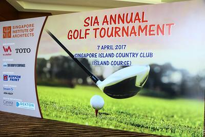 SIA Annual Golf Tournament 2017