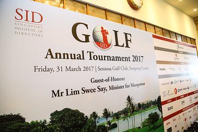 SID Golf Annual Tournament 2017