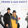 Frank and Eva party at Sonoma International Film Festival 2018