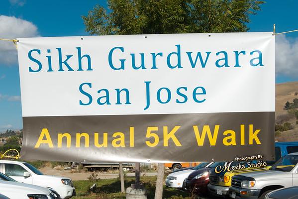 5K Walk at San Jose Gurdwara Sahib 2014