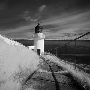 McArthur's Head Lighthouse, Isle of Islay, Scotland. 2014