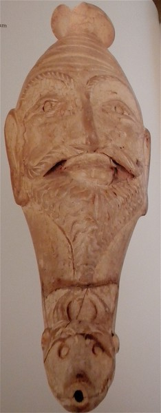 Drinking vessel in the shape of a human head page 154