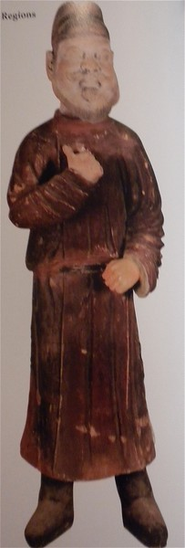 Figure of Hu, a foreigner, from the Western Regions page 98