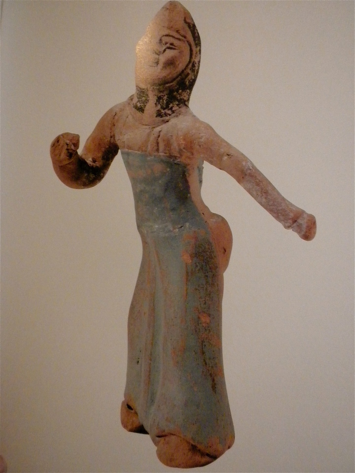 Painted figurine of a dancer page 109