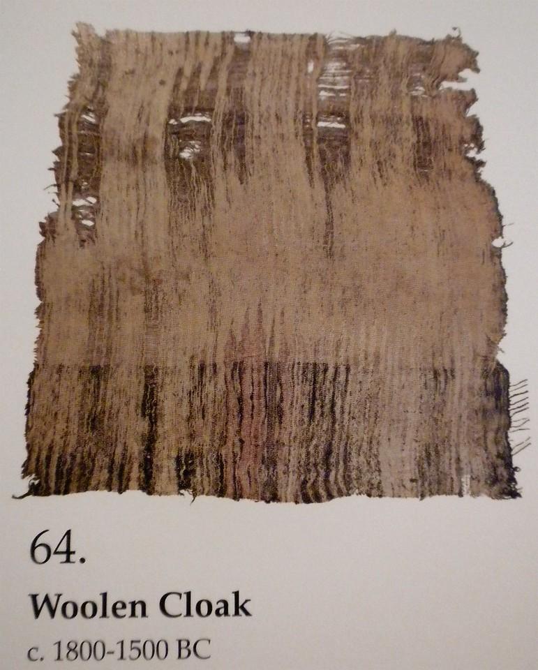 Woolen cloak page 178