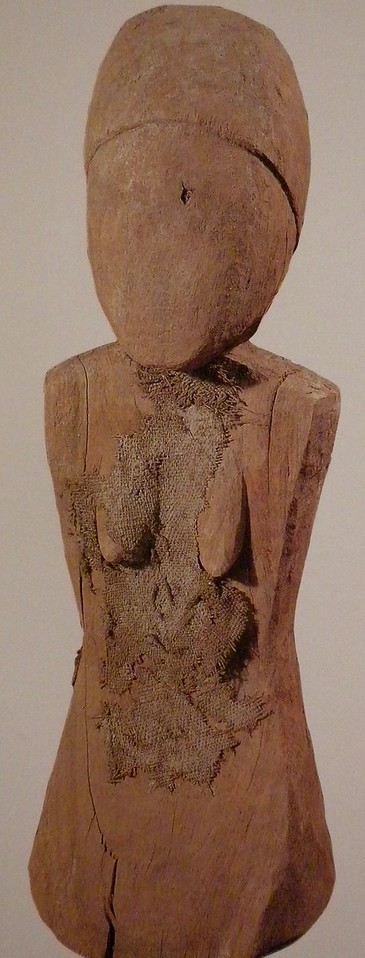 Wooden female figurine page 191