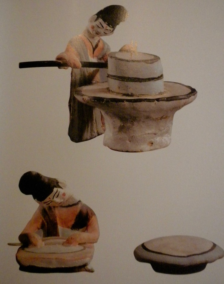 Group of femaile pottery figures at work pagees 104-105