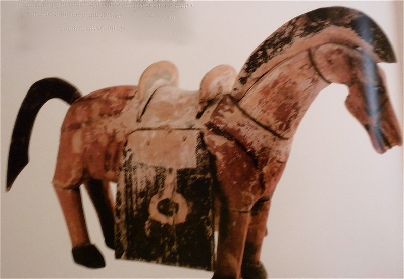 Painted wooden horse page 130