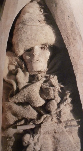 "One of the best preserved mummies found in the world which was the main attraction of the ""Secrets of the Silk Road."""