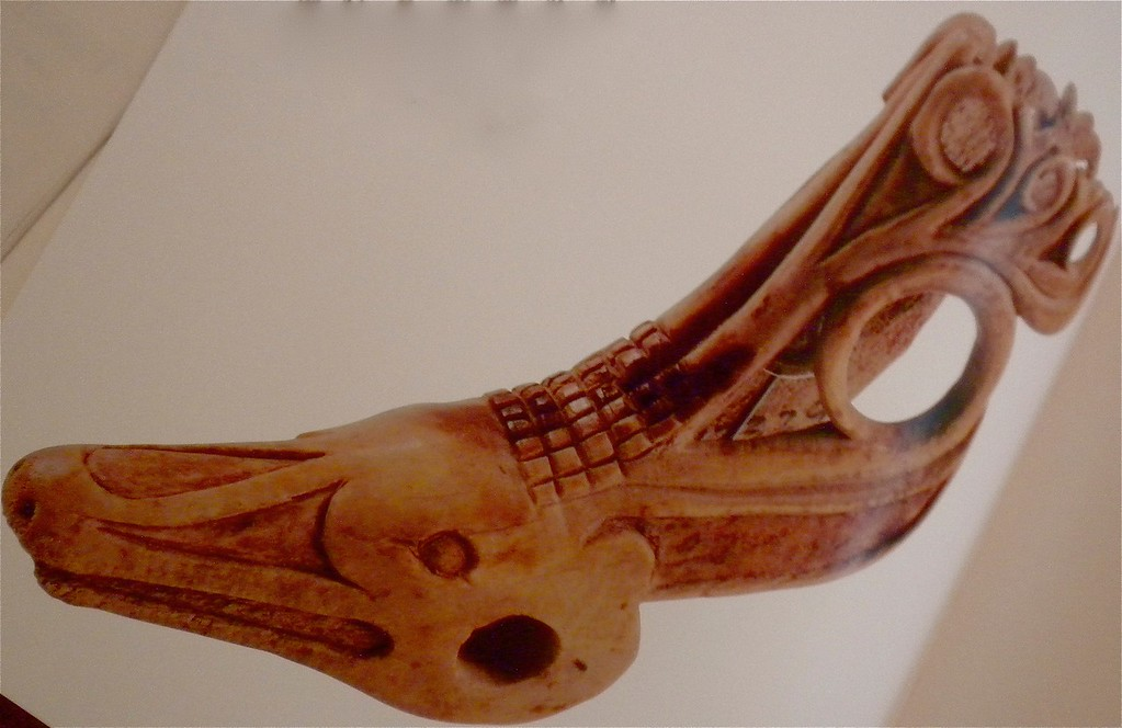 Stag's head bone carving page 126
