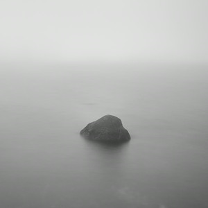 Boulder in Misty Loch, Study 1, Isle of Islay, Scotland. 2014