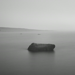 Boulder in Misty Loch, Study 2, Isle of Islay, Scotland. 2014