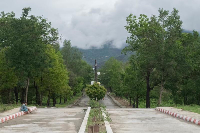 Boulevard into Kalay University