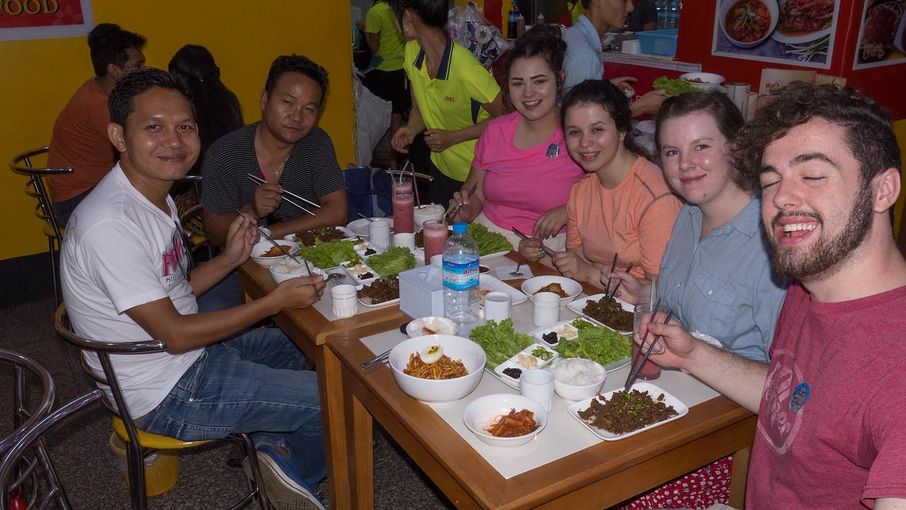 Korean BBQ in Yangon