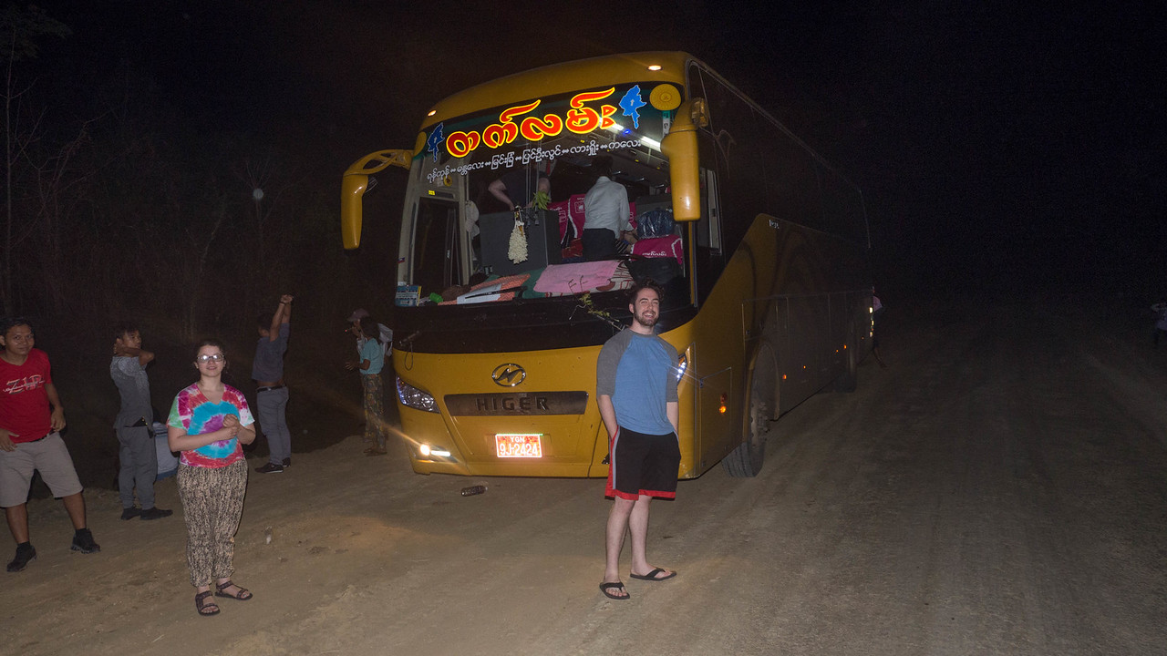 Great bus for the 20 hour trip - just cramped and a bumpy road - sleep near impossible