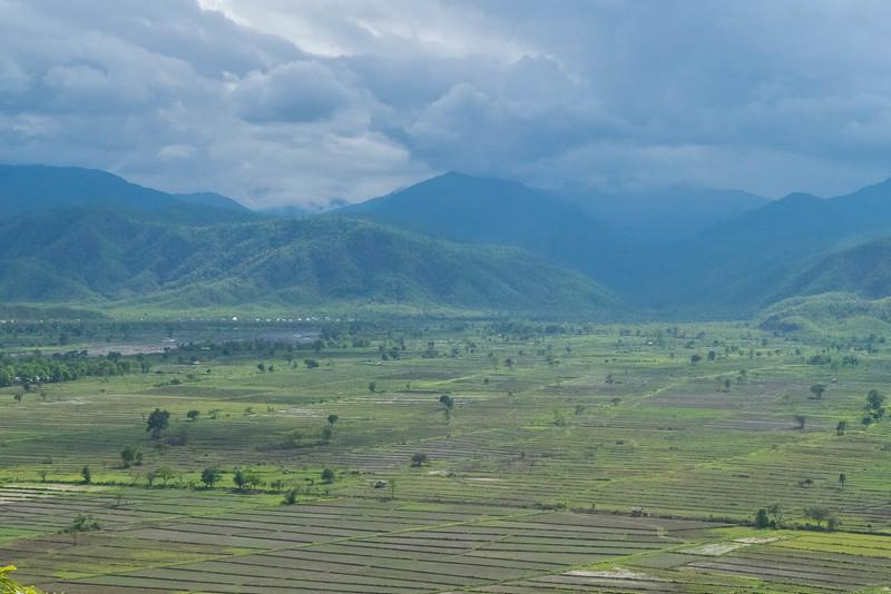 Rice terraces awaiting the raining season