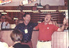 "Sir (Gentleman) James Hardy & Rub belt out what was believed to be ""Old MacDonald's Farm"" in a Sandy Eggo pub - 1992"