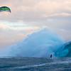 Kite Surfing at Teahupoo